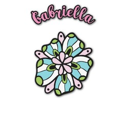 Summer Flowers Graphic Decal - Custom Sized (Personalized)