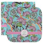 Summer Flowers Facecloth / Wash Cloth (Personalized)