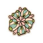 Summer Flowers Genuine Wood Sticker (Personalized)