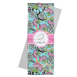 Summer Flowers Yoga Mat Towel (Personalized)