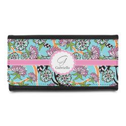 Summer Flowers Leatherette Ladies Wallet (Personalized)