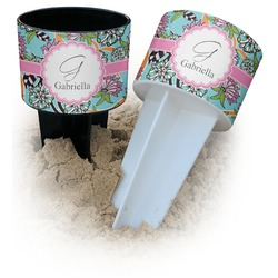 Summer Flowers Beach Spiker Drink Holder (Personalized)