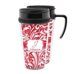 Swirl Acrylic Travel Mugs (Personalized)