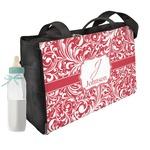 Swirl Diaper Bag w/ Name and Initial