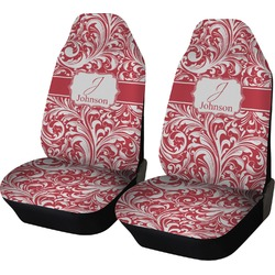 Swirl Car Seat Covers (Set of Two) (Personalized)