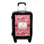 Swirl Carry On Hard Shell Suitcase (Personalized)