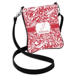 Swirl Cross Body Bag - 2 Sizes (Personalized)