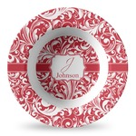 Swirl Plastic Bowl - Microwave Safe - Composite Polymer (Personalized)