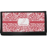 Swirl Canvas Checkbook Cover (Personalized)
