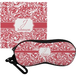 Swirl Eyeglass Case & Cloth (Personalized)