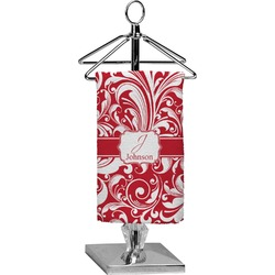 Swirl Finger Tip Towel - Full Print (Personalized)