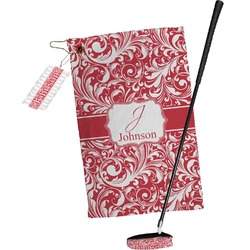 Swirl Golf Towel Gift Set (Personalized)