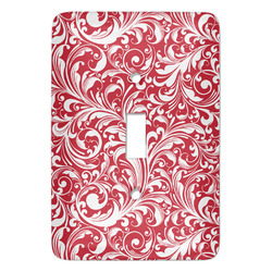 Swirl Light Switch Cover (Single Toggle) (Personalized)