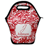 Swirl Lunch Bag w/ Name and Initial