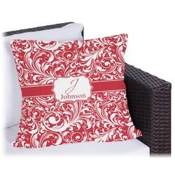 """Swirl Outdoor Pillow - 18"""" (Personalized)"""
