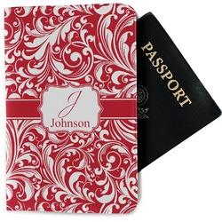 Swirl Passport Holder - Fabric (Personalized)