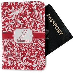 Swirl Passport Holder - Fabric (Personalized)