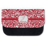 Swirl Canvas Pencil Case w/ Name and Initial