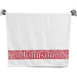 Swirl Bath Towel (Personalized)