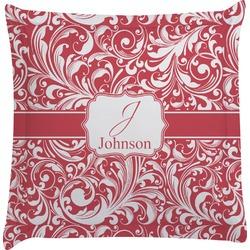 Swirl Euro Sham Pillow Case (Personalized)