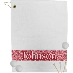 Swirl Golf Towel (Personalized)