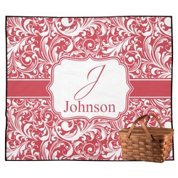 Swirl Outdoor Picnic Blanket (Personalized)