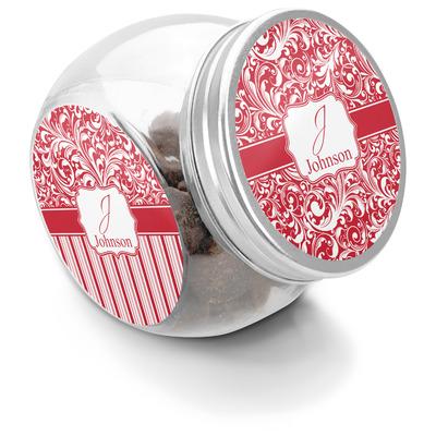Swirl Puppy Treat Jar (Personalized)