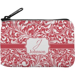Swirl Rectangular Coin Purse (Personalized)