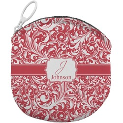 Swirl Round Coin Purse (Personalized)