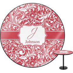 Swirl Round Table (Personalized)