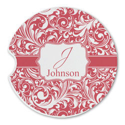 Swirl Sandstone Car Coasters (Personalized)