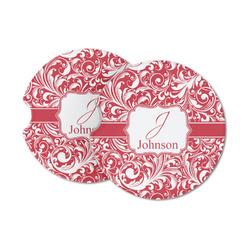 Swirl Sandstone Car Coasters (Personalized)