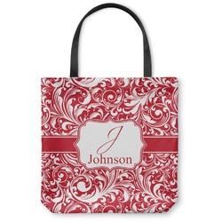 Swirl Canvas Tote Bag (Personalized)