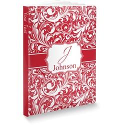 "Swirl Softbound Notebook - 5.75"" x 8"" (Personalized)"