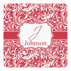 Swirl Square Decal - Custom Size (Personalized)
