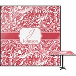 Swirl Square Table Top (Personalized)