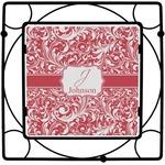 Swirl Square Trivet (Personalized)