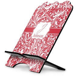 Swirl Stylized Tablet Stand (Personalized)