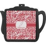 Swirl Teapot Trivet (Personalized)