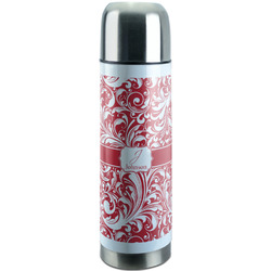 Swirl Stainless Steel Thermos (Personalized)