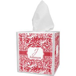 Swirl Tissue Box Cover (Personalized)