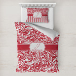 Swirl Toddler Bedding w/ Name and Initial