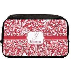 Swirl Toiletry Bag / Dopp Kit (Personalized)