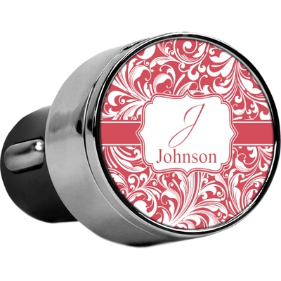 Swirl USB Car Charger (Personalized)