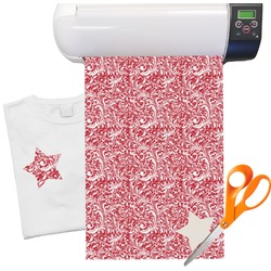 "Swirl Heat Transfer Vinyl Sheet (12""x18"")"