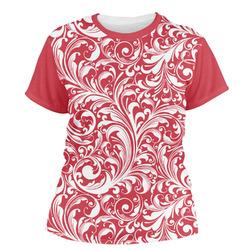 Swirl Women's Crew T-Shirt (Personalized)