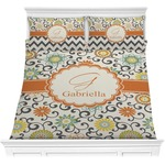 Swirls & Floral Comforters (Personalized)