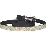 Swirls & Floral Dog Leash (Personalized)
