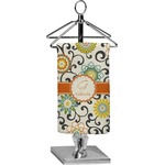 Swirls & Floral Finger Tip Towel - Full Print (Personalized)