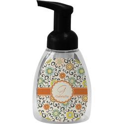 Swirls & Floral Foam Soap Dispenser (Personalized)